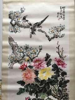 中国水墨画 125x69cm Chinese painting
