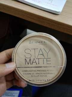 Rimmel Stay Mttae Powder