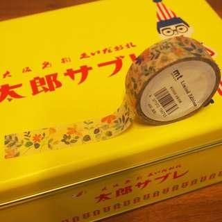 日本原創kamoi mt展masking tape和紙膠帶花