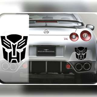 Transformers Autobot Decepticon Stickers Car Vinyl Decal