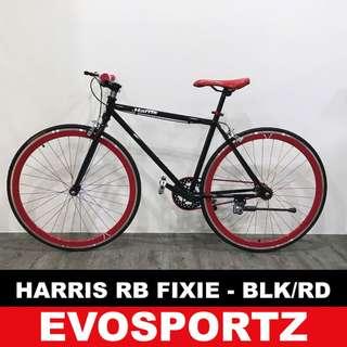 Harris Riser Bar Fixie (Black-Red)
