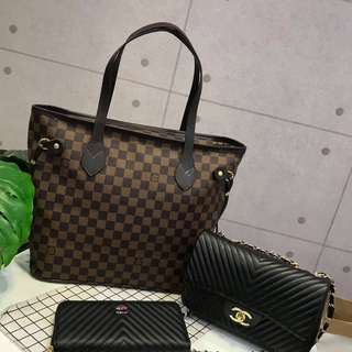 CLEARANCE SALE BRANDED BAGS SET RM195