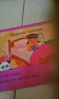 Spanish book   Buenas noches  Joy cowley  Lee tian soon  Add $1 for postage
