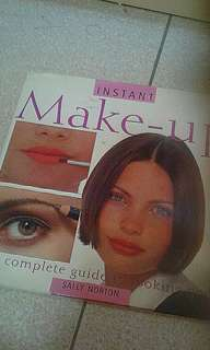 Instant make-up  The complete guide to looking good Sally norton Hardcover  Add $2 for postage