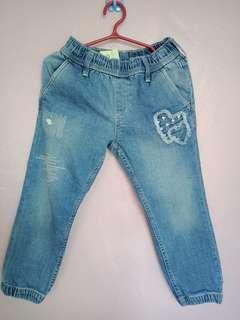 AUTHENTIC H&M JOGGER PANTS 3-4 YRS