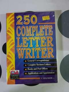 250 Complete Letter Writer