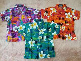 LIMITED EDITION!!!! Tailored Hawaiian Polo for toddlers