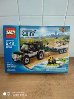 Lego City - 60058 - SUV with Watercraft