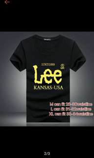 Lee and Nike Tshirts