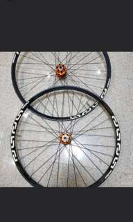 Chris king iso hub e13 trs+ rim 29 wheel set yeti sb5.5 4.5 santa cruz