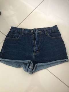 Tapas denim shorts