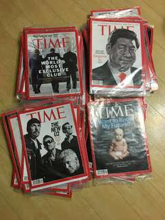 TIME Magazine (2012-2014 issued) #ALL NEW#