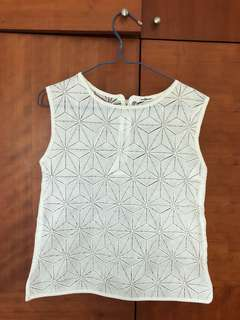 Indiesin lattice mesh tank