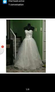 Actual Photo Wedding Gown