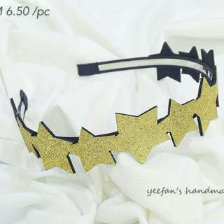 Hair accessories .Star headband