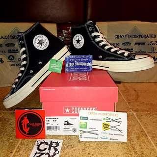 Converse CT 70's Hi Black/Regret Original