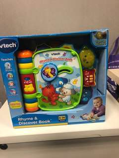VTech - Rhyme & Discover Book 100% New