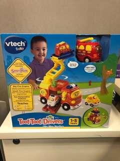 Vtech - Toot - Toot Drivers 100% New