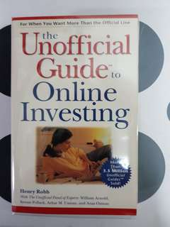 The Unofficial Guide to Online Investing