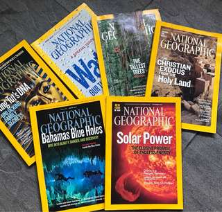 2009 & 2010 National Geographic Magazines