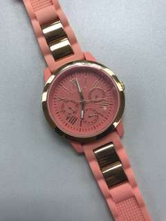 法國品牌neon pink Stainless steel watch