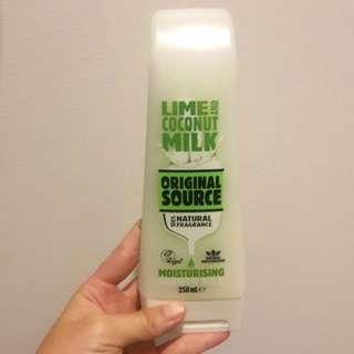 Original Source Lime and Coconut Milk Moisturizing Shower Milk