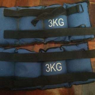 Ankle weights 3 kg