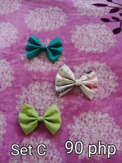 Bow and clips