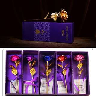 Doorgift Rose 24k