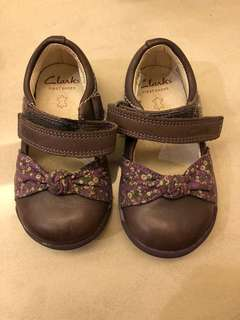 Clark baby first shoes original