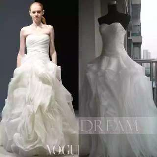 2018 new arrival wedding gown