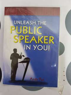 Unleash The Public Speaker in You