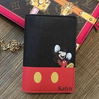 Custom Personalised Passport Holder - Mickey Mouse