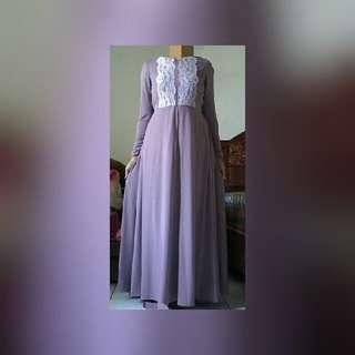 gamis / dress maxi