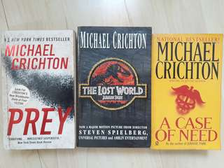 Michael Crichton's books