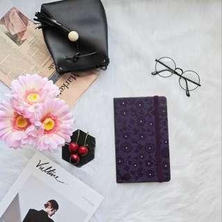 Dark Purple Lazy Flower