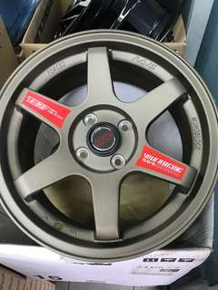 15 inch te37SL sport rim made in Thailand