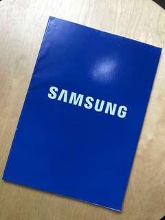 Samsun Blue Notebook
