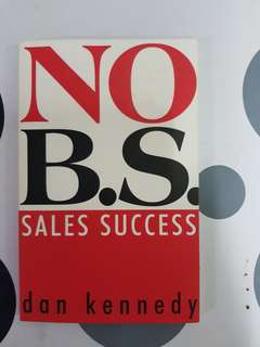 No B.S.Sales Success