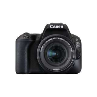 Brand New Canon EOS 200D Body + 18-55mm F4-5.6 IS STM