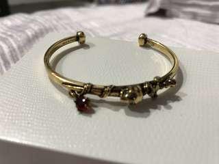Alexandra McQueen Skull Bracelet
