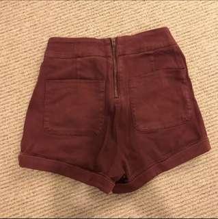 UO high waist shorts