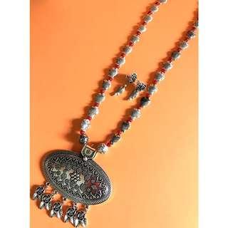 Fish Chain Necklace Set