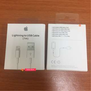 Iphone X Iphone 8 cable Original Apple Lightning Cable