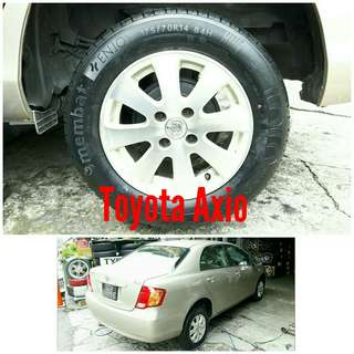 Tyre 175/70 R14 Membat on Toyota Axio 🐕 Super Offer 🙋♂️