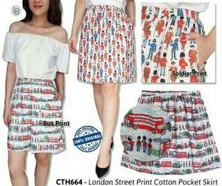 Rok Branded Mirah Cath London Street Casual Skirt Rok Branded Original