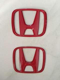 Honda Civic 10th Gen Badge Logo Emblem