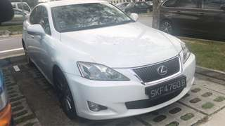 Lexus IS250 for rental