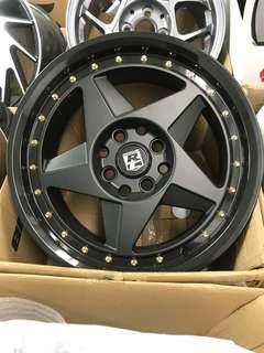 15 inch Raysclub black edition sport rim