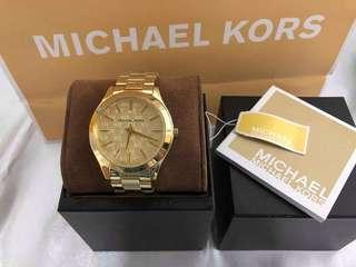 MK Gold Watch